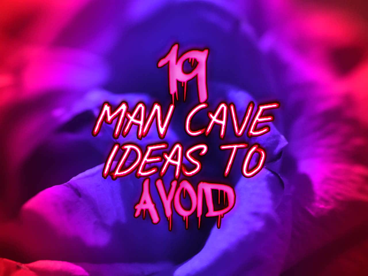 19 man cave ideas to avoid feature