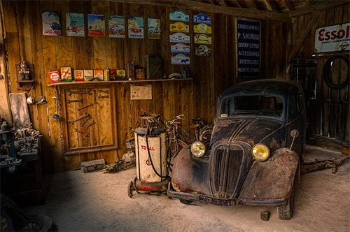 How to Man Cave a Garage
